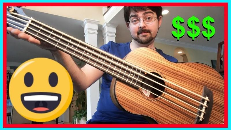 Cheapest Ukulele Bass on Amazon! Unboxing