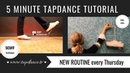 SCUFF - Tap dance Tutorial - 44th video - 5 minutes