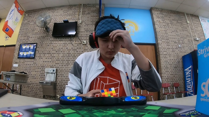 334.41 5x5x5 Blindfolded World Record