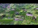 Деревня-призрак, захваченная растениями, крайне живописна.
