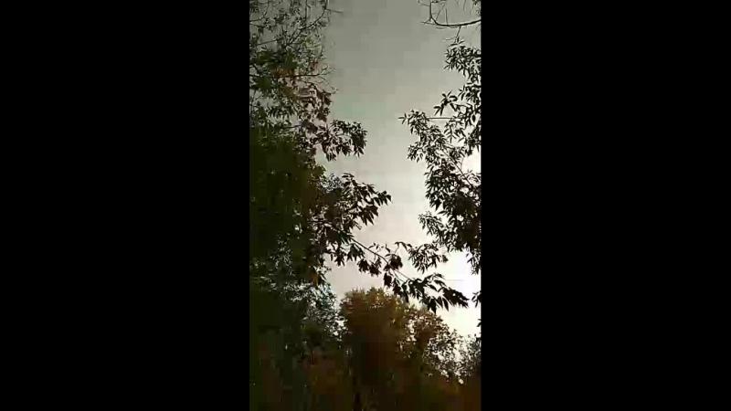 Гроза в Усть-Каменогорске 23.09.18