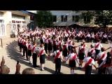 Выпускной вальс и флешмоб четвероклассников, школа № 22 , г. Севастополь, 2018 год