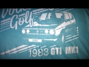 Официальная футболка Volkswagen Golf Фольксваген Гольф / ТИХИЙ