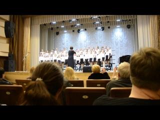 Конкурс младших хоров (Руководитель - Лисина М.Н., Концертмейстер - Панфилкина Е.А.)
