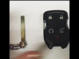 HYQ1EA Smart key case 5 button for Chevrolet GMC Acadia