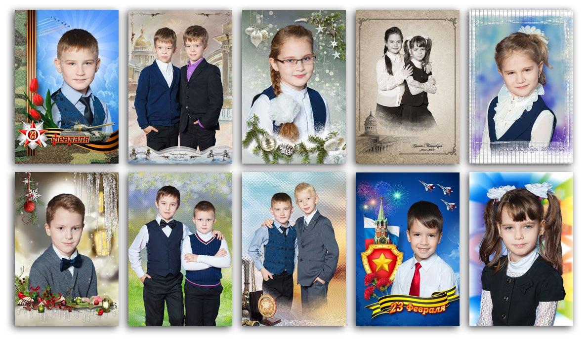 Фотосессия всанкт-петербургской школе №640(2-е классы)  . Тематические фотосессии (новогодняя ик 23февраля) ипортретная+сюжетная фотосъёмка
