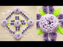 Wall Decoration Ideas | Beautiful Wall Hanging Making at Home | Paper Flower Wall Hanging р12