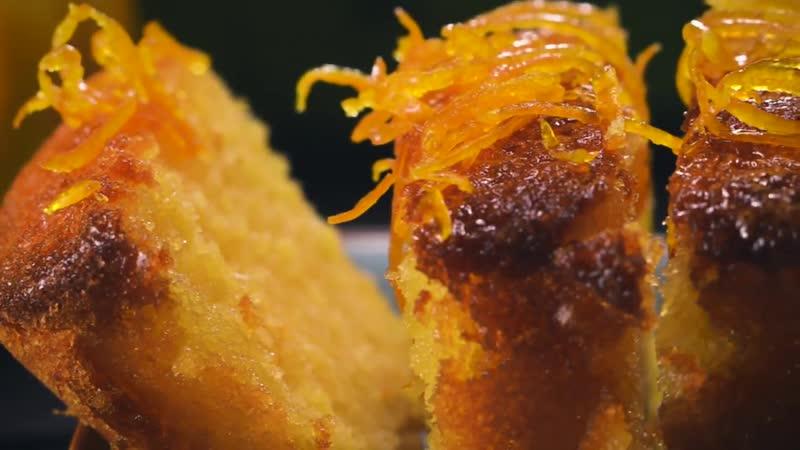 ДЕСЕРТЫ: Апельсиновый кекс с пропиткой