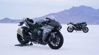 Ninja H2 | Kawasaki Team 38 Bonneville Record Attempt | Chapter 2