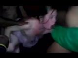 молодую жену sexwife пускает по кругу в клубе толпа мужиков Sexwife cuckold сексвайф куколд МЖМ