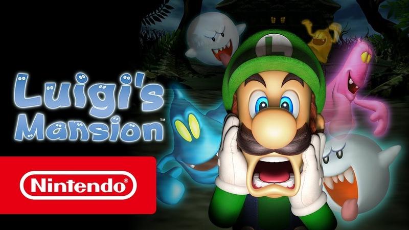 Luigi's Mansion — релизный трейлер (Nintendo 3DS)