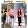 "Топ видео on Instagram ""1.Barbie or 2.Normal😍 barbie barbi normal robot робот dance танец батл girl girls love hit хит топ top to..."
