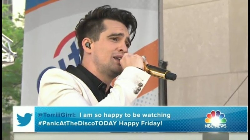 Panic! at the Disco performs High Hopes LIVE on the TODAY Show | June 29th 2018