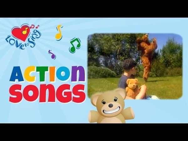 Teddy Bear Song Kids Dance Action Songs Children Love to Sing