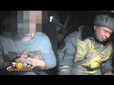 В Красноярске пьяная молодая женщина перевернула джип с двумя детьми и сбежала .
