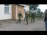 Военно-полевые сборы (2018). Первый проход по плацу.