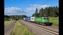 Västra stambanan Zugverkehr in Schweden Green Cargo uvm bei Göteborg