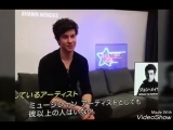 Shawn Mendes Interview with a Japanese TV