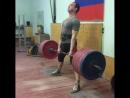 Андрей Костенко, тяга 260 кг на 3 раза