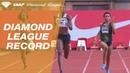 Shaunae Miller-Uibo 48.97 Wins Women's 400m - IAAF Diamond League Monaco 2018