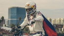 Travis Pastrana Jumps 52 Crushed Cars: EVEL LIVE