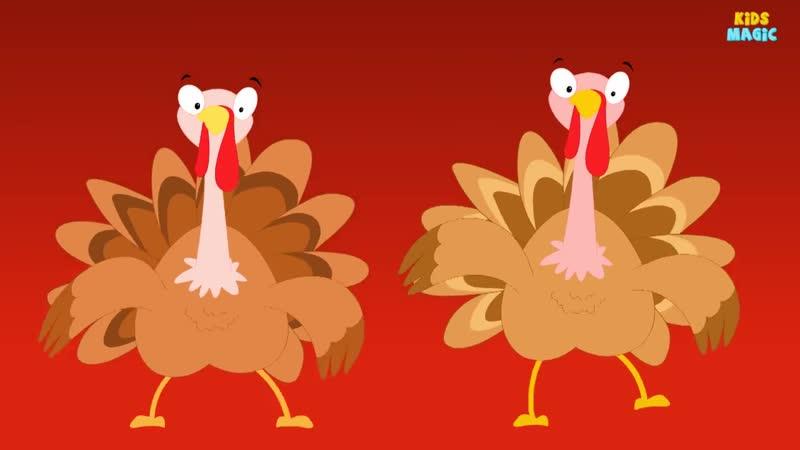 Gobble Gobble -Turkey Song - Thanksgiving Song -