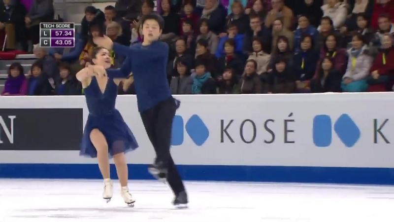 Maia SHIBUTANI _ Alex SHIBUTANI Free Dance ISU Grand Prix Final 2016 No Commenta