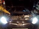 Потеря напряжения на фарах Hyundai Solaris дорестайла из-за отсутствия реле