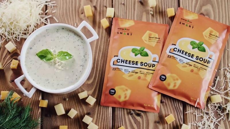 Energy Diet Smart Сырный суп Как похудеть за неделю?
