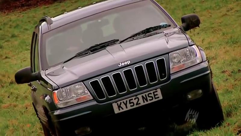 Топ Гир внедорожники Toyota Land Cruiser BMW X5 Range Rover Jeep Grand C