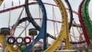 Olympia Looping Roller Coaster Prater Vienna 2016 4K