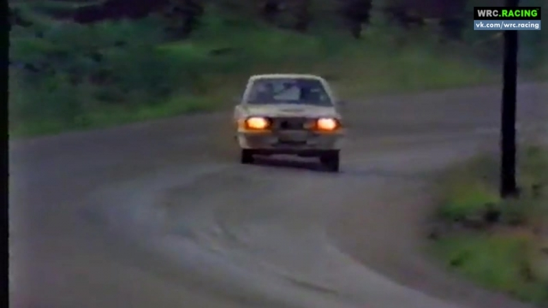 WRC 1981. Этап 9. Обзор Ралли Финляндии