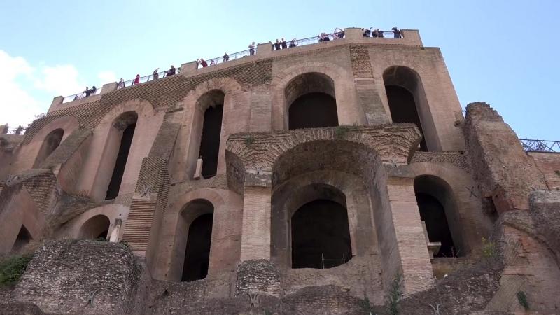 Рим и Ватикан - видео экскурсия в HD c дрона (квадрокоптера)