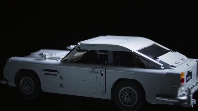 LEGO James Bond Aston Martin DB5 Set REVEAL Designer Review Video LEGO Creator Expert