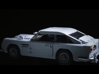 LEGO James Bond Aston Martin DB5 Set REVEAL Designer Review Video - LEGO Creator Expert