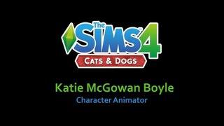 The Sims 4: Кошки и собаки - анимация от Кэти Макгован