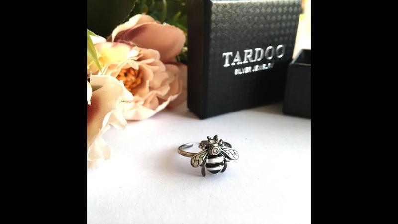Серебряное кольцо пчела от Tardoo с Алиэкспресс (покупки с Aliexpress)