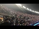 Gillette Stadium crowd sings Bon Jovi during Patriots - Jaguars AFC Championship game