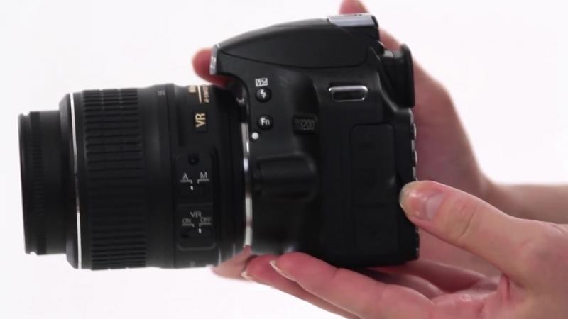 Обзор зеркального фотоаппарата Nikon D3200 Kit 18-55 VR Black