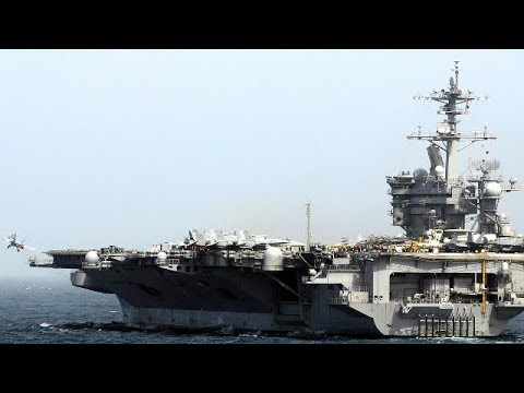 Step Aboard the Nimitz Class Aircraft Carrier: The Reason Why the U.S Navy Is Unstoppable