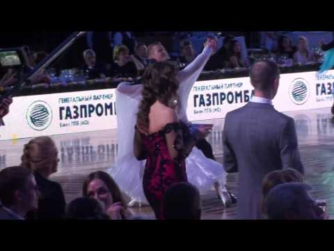 Fedor Isaev Anna Zudilina Foxtrot WDC Kremlin Cup Amateur Standart 2017
