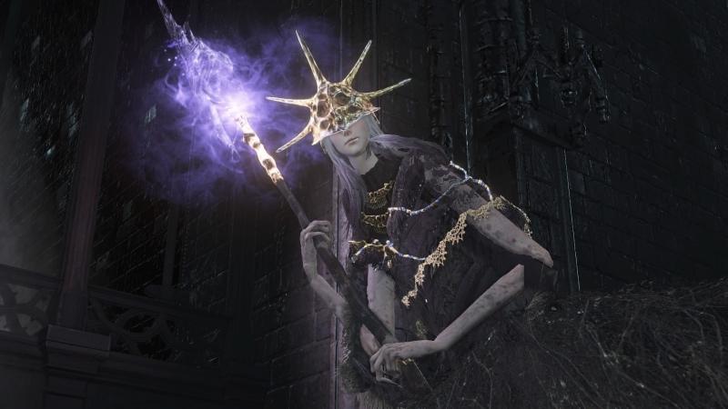 DARK SOULS III Олдрик, пожиратель богов 3