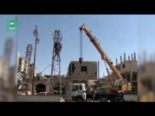 Сирия: в Пальмире наладили электроснабжение — видео ФАН