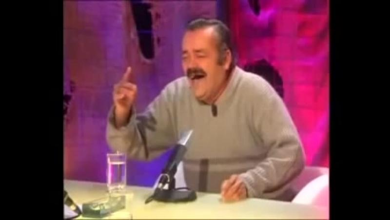 итальянец смеется