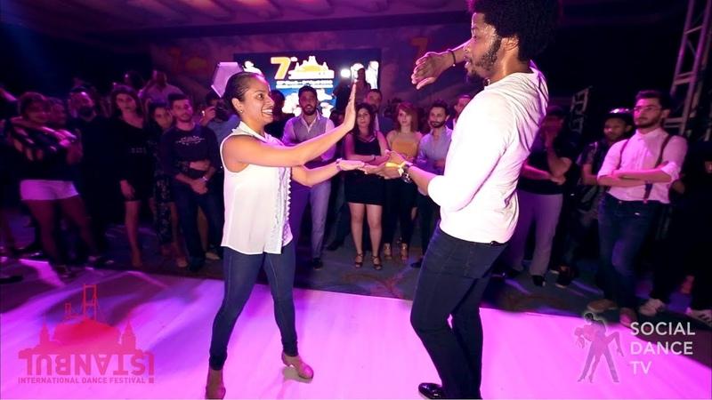 Terry SalsAlianza Magna Gopal - Salsa social dancing | IIDF 2018