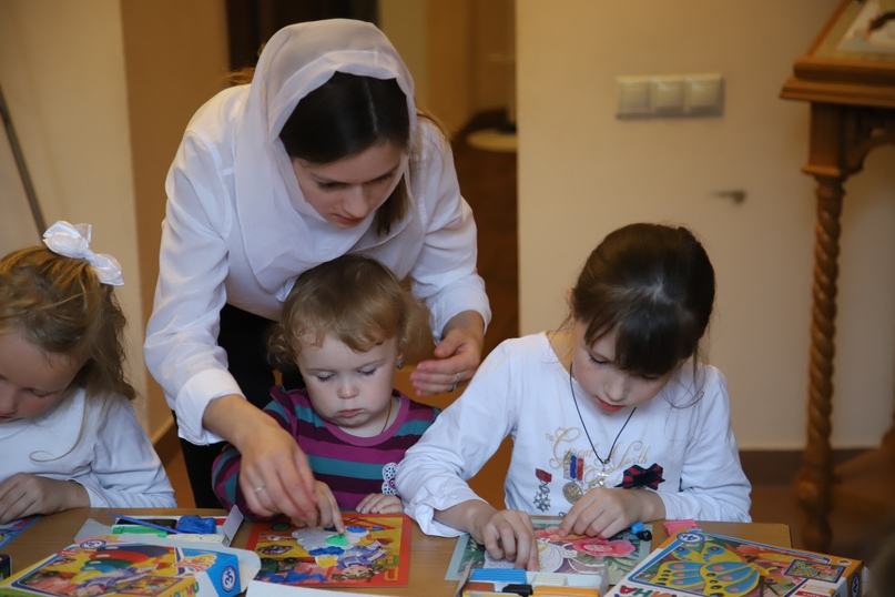 Начало учебного года в воскресной школе в Солнцево