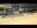 Чемпионат России по синхронному катанию 1 спортивный разряд ПП 11 Мордовия САР [720p]