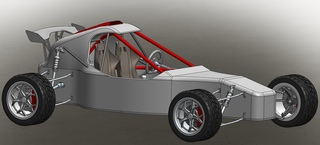 Solidworks Offroad Racing Buggy