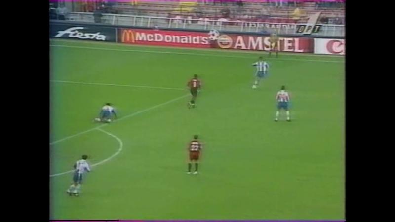 53 CL-1996/1997 AC Milan - FC Porto 2:3 (11.09.1996) HL