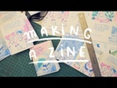 Made a ZINE in 24 hours on RISO printing ~ Frannerd